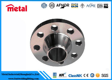 "China Threaded, blind, Weld-neck Slip-on C70600 Copper Nickel ""90/10""  pipe  Flanges supplier"