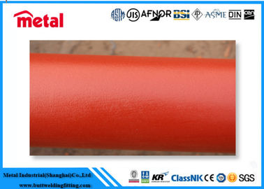 China Seamless Plastic Coated Steel Pipe API 5L GRB / A106 GRB EPOXI 300 Microns supplier