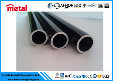 China Black Aluminum Alloy Pipe Anodized Extruded Seamless ANIS B36.19 Center Muffler supplier