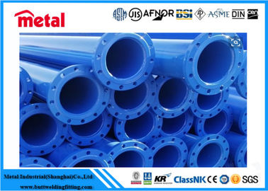 China Hot Rolled Epoxy Lined Carbon Steel Pipe , Plastic Coated 12 Inch Sch 40 Pipe supplier