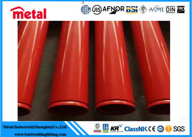 China ASTM A106 Coated Steel Pipe GRADE B SEAMLESS OD 4 INCH Size 3PE Material supplier
