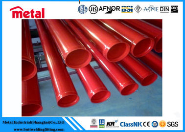 China ERW 273MM Plastic Coated Gas Pipe , SCH STD Oil / Gas Line Polyethylene Coating Pipe supplier