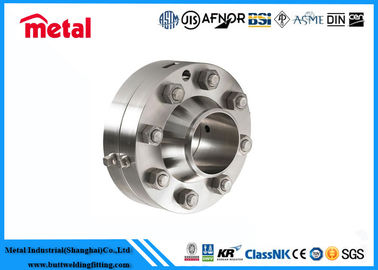 China Duplex 2205 Orifice Plate Flange , Class 900 Super Duplex Stainless Steel Orifice Plate supplier