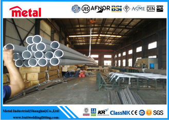 China Super Austenitic 3 Inch Stainless Steel Tubing , Welded Stainless Steel Seamless Pipe supplier