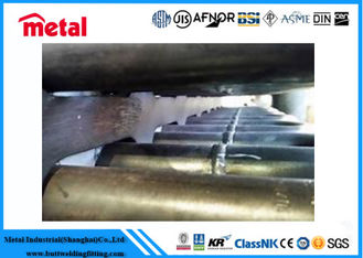 China Thick Wall High Pressure Boiler Tube ASTM A213 T22 OD 44.5mm x 4.5mm x 6 - 7 Mtr PE supplier