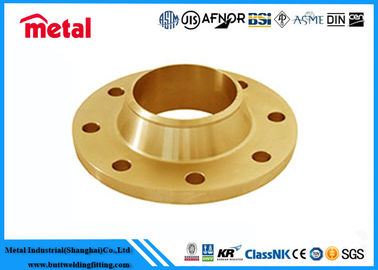 China Corrosion Resistance Copper Nickel Flanges , ASTM B608 C70600 Copper Flange Fittings supplier