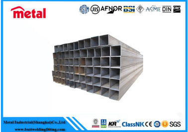 China Hot Dipped Zinc Coated Steel Pipe , 6 '' SCH120 Q195 Galvanized Square Tubing supplier