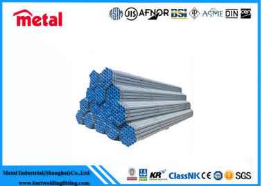China DN100 Q345 Hot Dip Galvanized Steel Pipe , Sch120 Seamless Carbon Steel Pipe supplier