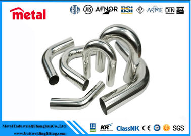China Incoloy 800 U Shaped Tube , 60.33 MM Diameter Round Stainless Steel Tubing supplier