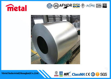 China Thin Metal Strip Cold Rolled Galvanized Steel Coil , 2B / BA / NO.4 Galvanized Steel Sheet supplier