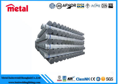 China Carbon Steel Hot Dip Galvanized Tube Round Shape DN200 Sch60 Q215 For Gas supplier