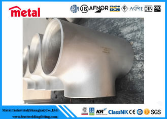 China UNS NO8020 Nickel Alloy Pipe Fittings Equal Tee Seamless Oxidation Resistance supplier