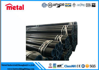 China ASTM A53 - 2007 Seamless Steel Pipe Black Round Tube 18 '' Sch 80 Size supplier