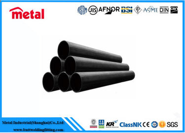 China Seamless Black Carbon Steel Pipe , ASME SA213 T5 Industrial Steel Pipe supplier