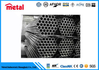 China Construction Low Temp Carbon Steel Pipe , High Tensile Seamless Mild Steel Pipe supplier