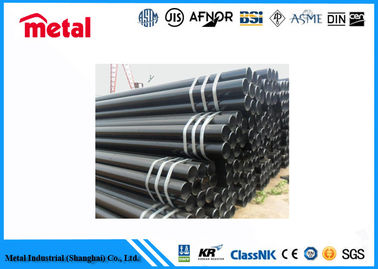 China Impact Test Low Temperature Steel Pipe Carbon Steel A333 Material Round Shape supplier