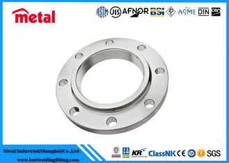"China ASTM UNS32760 Super Duplex Stainless Steel Pipe Fittings 8 "" Class 150 Slip On Flange supplier"