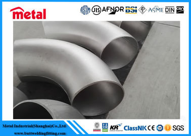 China Inconel 600 SMLS Nickel Alloy Pipe Fittings 90 Degree Elbow NO6600 For Connection supplier