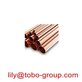ASME SB466 CuNi UNS C71000 Seamless Copper-Nickel Pipe and Distiller Tubes 6-8m