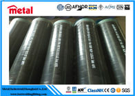 China Bw Ends Powder Coated 6 Inch Steel Pipe , ASTM A106 3lpe Coated Pipes factory