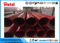 China X65 PSL2 3LPE 16 Inch Coated Steel Pipe SCH 40 Thickness Round Section Shape factory