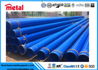 China GRADE X52 ERW 3PP Coated Steel Pipe OD 4 INCH WT 7.9 MM Internal Coating Novolac Epoxy factory