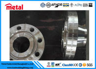 High Strength Raised Face Weld Neck Flange , N06600 CL300 RF WN RJ SS Pipe Fittings