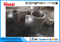 Incoloy 825 Nickel Alloy Pipe Fittings Equal Tee For Oil Gas Sewage Transport