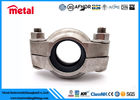 "Suplex Duplex 2507 Alloy Steel Pipe Fittings Clamp Coupling 77C 1.5"" 48.3MM 1200PSI"