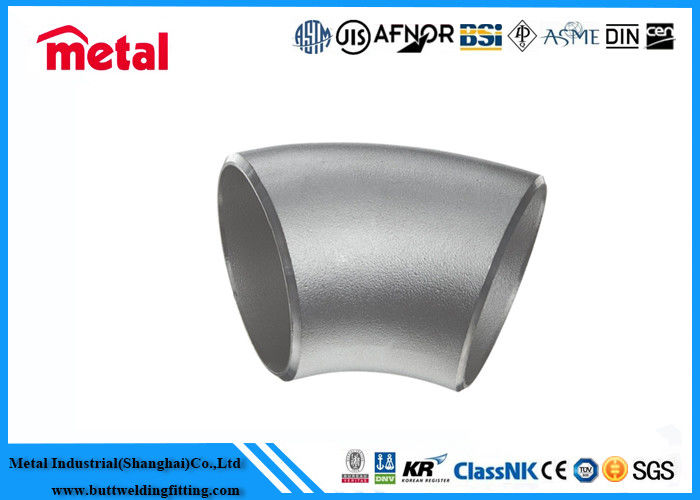 S31803 / S32205 Super Duplex Stainless Steel Pipe Fittings 304 Stainless Steel Elbow Seamless Reducer