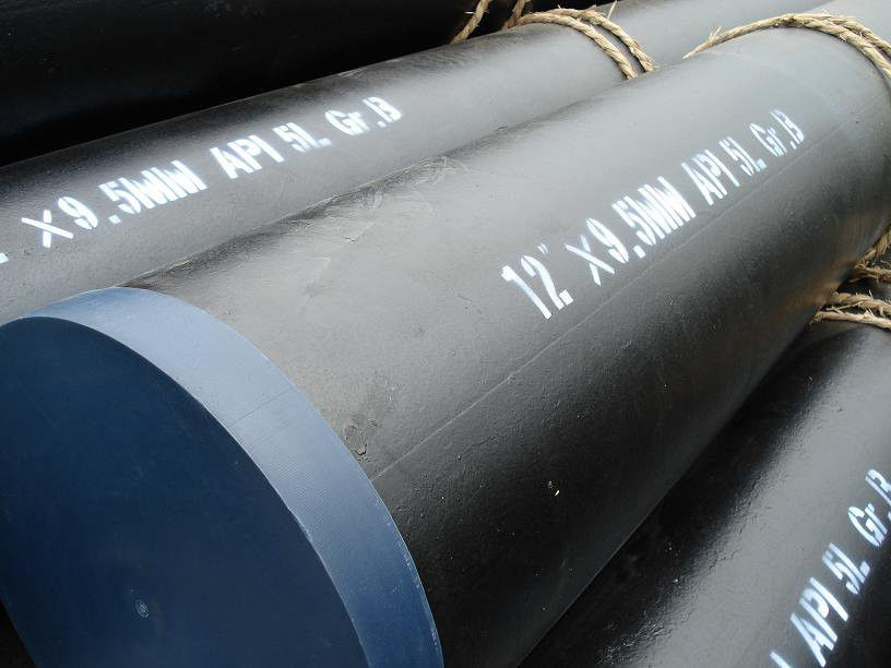 Multifunctional Api 5l X65 LSAW Coated Steel Pipe