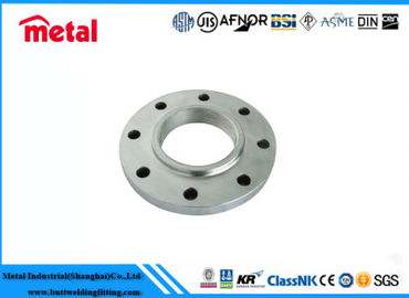 CuNi 90 / 10 PN10 Alloy Steel Flanges , Flat Face Reducing Weld Neck Flange ANSI B16 5