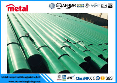 China API 5L X52 3LPE Coated Steel Pipe DN600 SCH 40 Thickness LSAW For Liquid factory