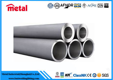 China Cold Rolled High Pressure Steel Pipe , Thick Wall Black Steel Pipe For Heat Exchanger factory