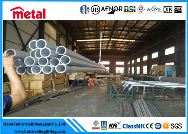 Super Austenitic 3 Inch Stainless Steel Tubing , Welded Stainless Steel Seamless Pipe
