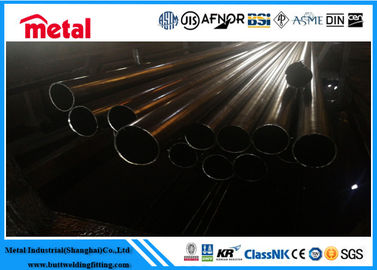 Large Diameter Stainless Steel Tubing , ASTM A312 UNS S30815 Stainless Steel Threaded Pipe