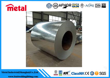 China High Toughness Galvanized Steel Coil , Smooth 1045 Brushed Stainless Steel Sheet factory