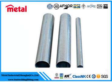 Q215B Seamless Hot Dipped Galvanized Pipe , Silver DN150 Schedule 60 Steel Pipe