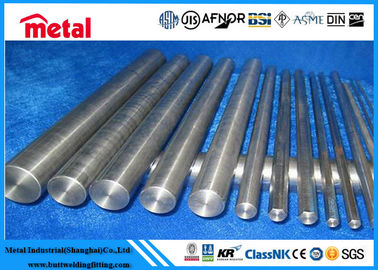 Long SUSY201cu Round Metal Bar , ASTM A240 Cold Rolled Steel Round Bar