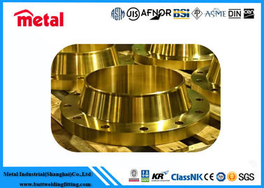China Carbon Steel Long Weld Neck Flange 300# Super Duplex High Strength DIN Standard factory