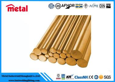 China Durable Round Copper Nickel Pipe Seamless Excellent Corrosion Resistance factory