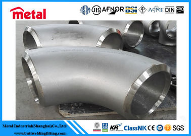 90 Degree Butt Weld Elbow , Alloy Steel Incoloy 825 Fittings For Industries