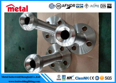 Forged NO8825 Nipo Alloy Steel Flanges , Incoloy 825 Copper Nickel Pipe Fittings