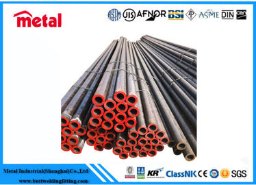 ASTM A179 Seamless Carbon Steel Pipe , DN250 Round Schedule 80 Steel Pipe