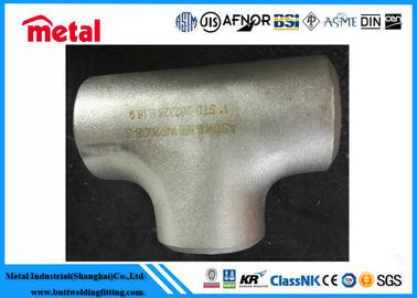 BW Pipe Fittings Alloy Steel Pipe Equal Tee ASTM B366 Alloy B UNS N10001