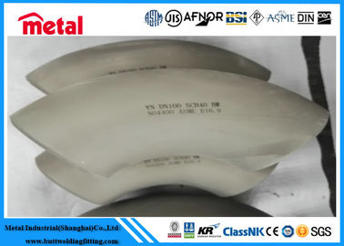 Nickel Alloy N UNS N10003 Seamless 90° LR Elbow 1'' SCH10S For Oil
