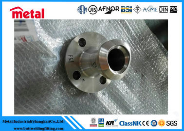 "China SO RF Stainless Steel Flange ASTM A182 1.1/2"" 40S 600# A182 F44 B16.5 Customized factory"