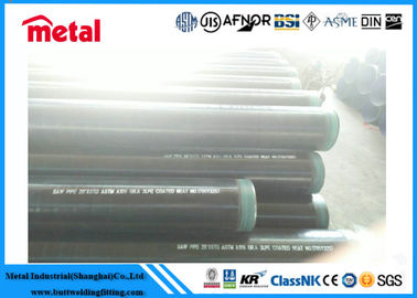 "China 12"" SCH 40 Seamless Coated Steel Pipe API 5L X52 PSL1 External DIN 30678 factory"