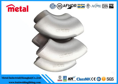 China Nickel Alloy Steel Pipe Fittings Seamless Elbow DN100 SCH40 Alloy K-500 factory