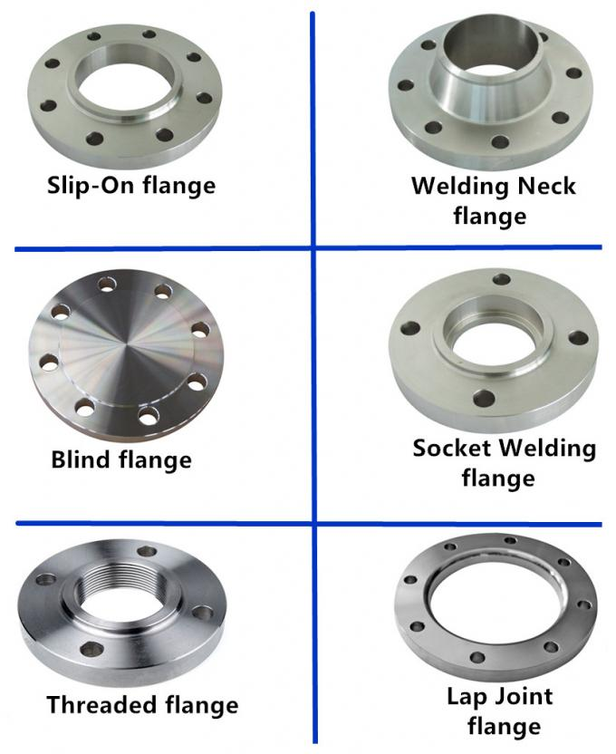 Class 900 Weld Neck Orifice Flange , Oil / Gas System Threaded Reducing Flange